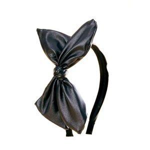 NWT Shein Faux Leather Bow Headband